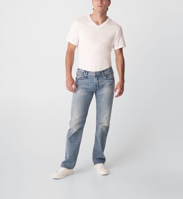 Allan Classic Fit Straight Leg Jeans