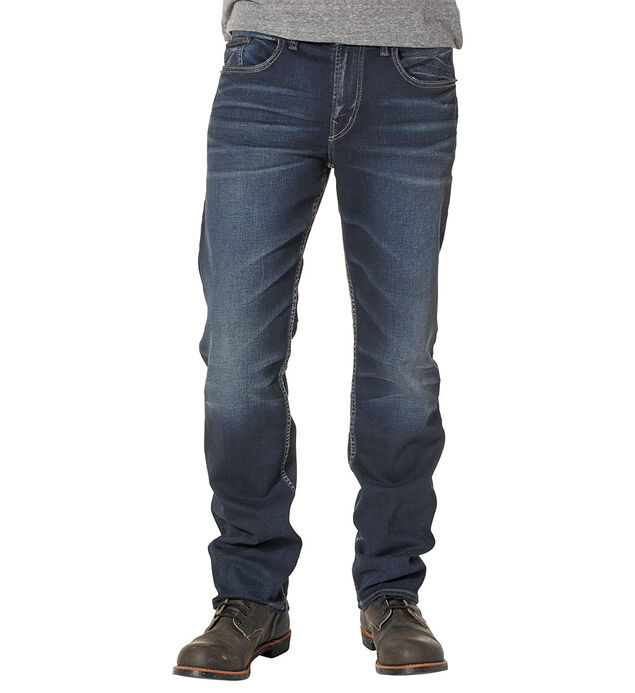 Grayson Easy Fit Straight Leg Jeans - Big & Tall