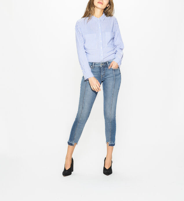 Aiko Skinny Mid Rise Medium Wash
