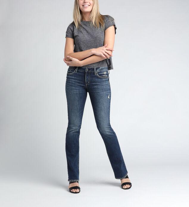 Suki Mid Rise Slim Bootcut Jeans