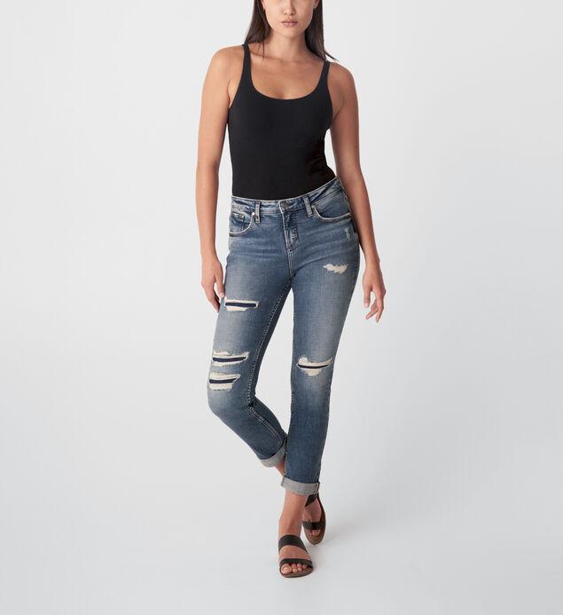 Beau Mid Rise Slim Leg Jeans