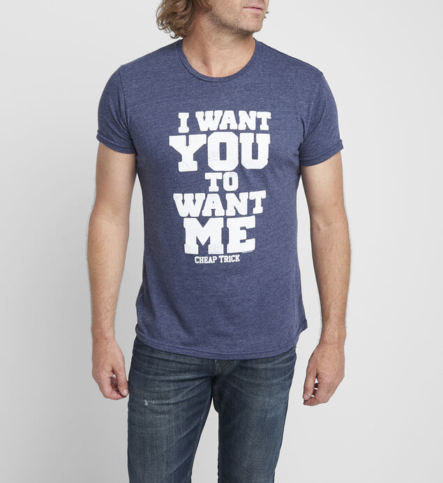 Want Me Graphic Tee
