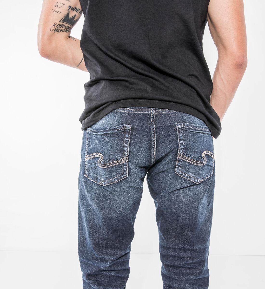 Allan Classic Fit Straight Leg Jeans Alt Image 1
