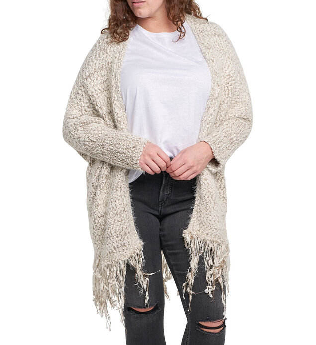 Marla Fringe Cardigan Sweater