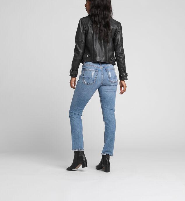 Frisco High Rise Straight Leg Jeans, , hi-res