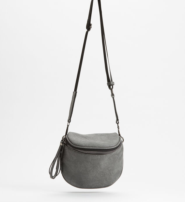 Zip Saddle Bag
