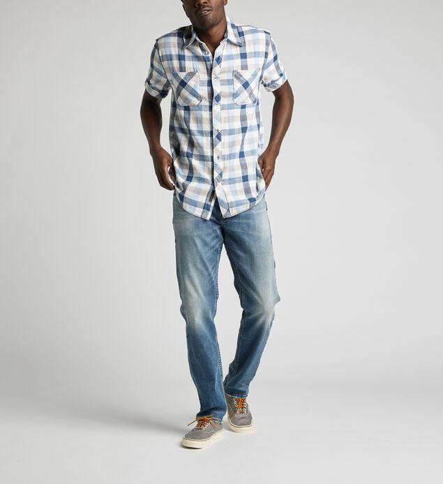Corbin Plaid Shirt, , hi-res