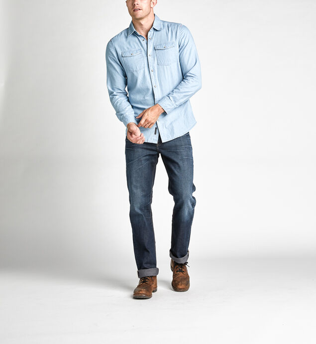 Calden Long-Sleeve Classic Shirt, , hi-res
