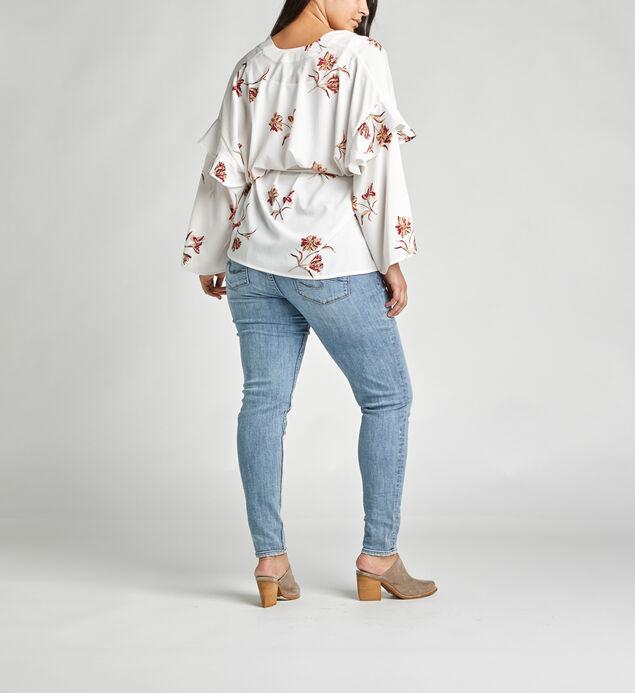 Sana Belted Floral-Print Kimono, , hi-res