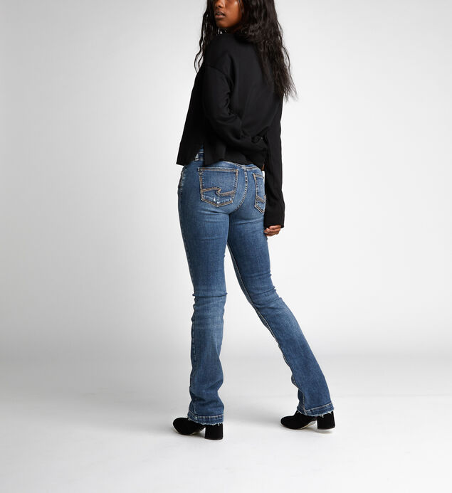 Elyse Slim Boot Mid Dark Wash, , hi-res