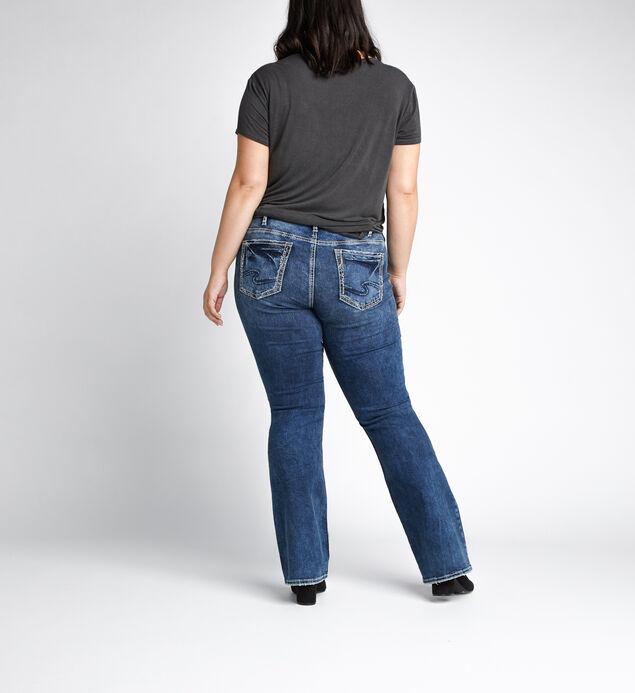 Elyse Mid Rise Bootcut JeansPlus Size, , hi-res