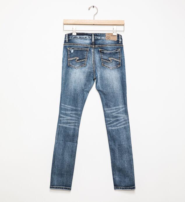 Sasha Medium-Wash Distressed Skinny Jeans (7-16), , hi-res