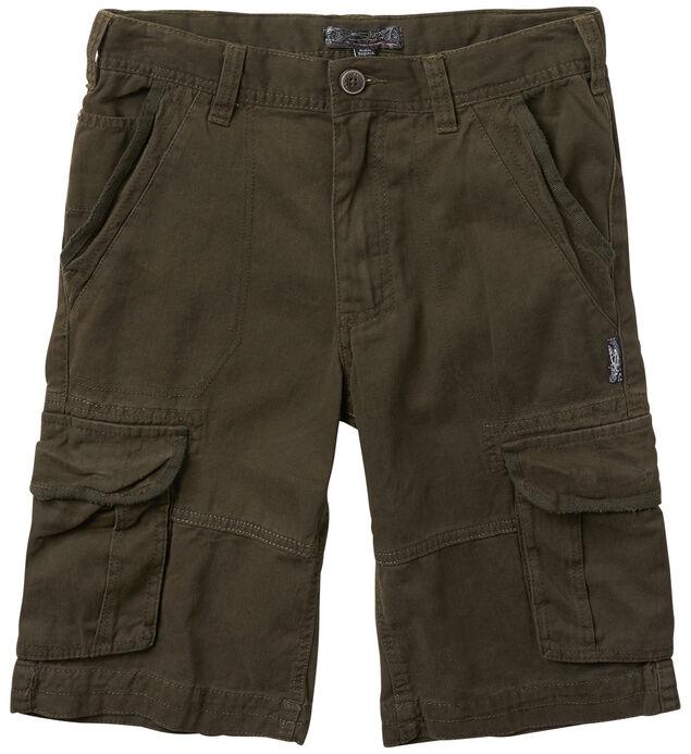 Twill Cargo Shorts (4-7)