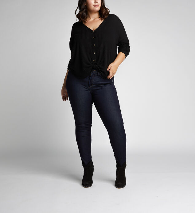 Mazy High Rise Skinny Leg Jeans Plus Size