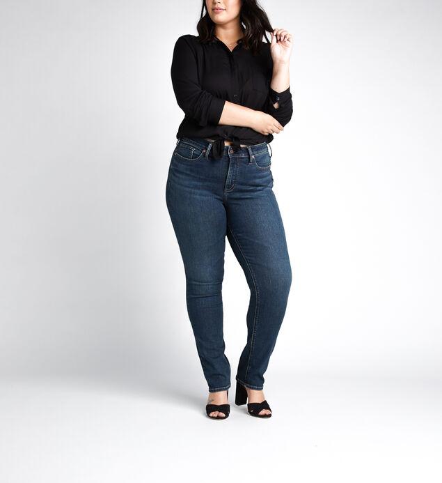 Avery High Rise Straight Leg JeansPlus Size