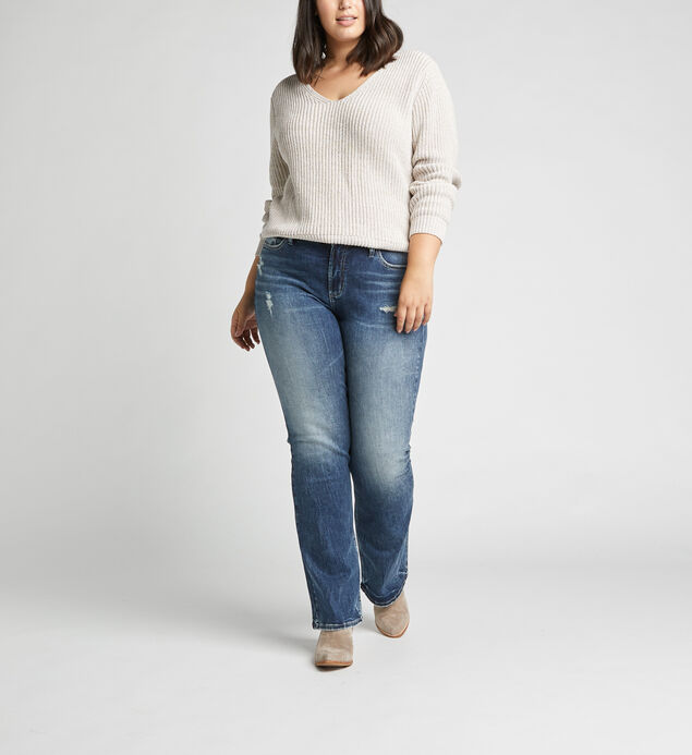 Avery High Rise Bootcut Jeans Plus Size