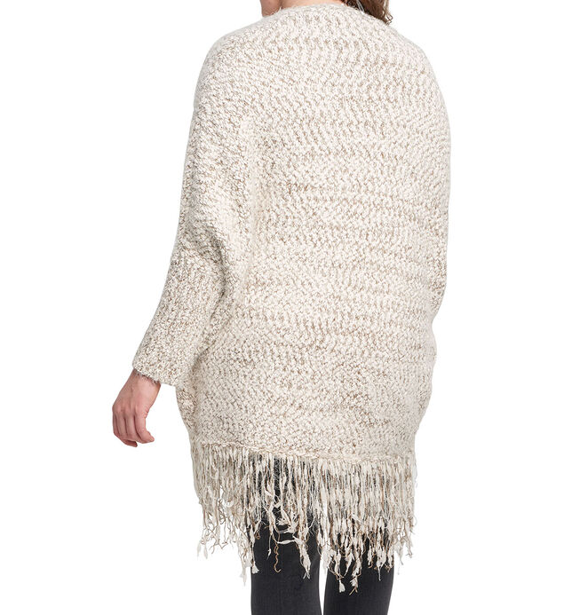 Marla Fringe Cardigan Sweater, , hi-res