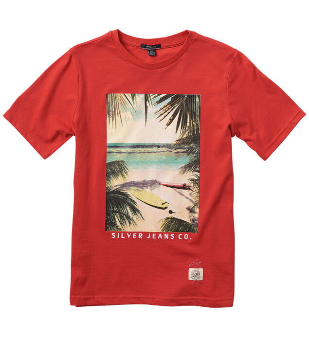 Short-Sleeve Surfer Graphic Tee (7-16)