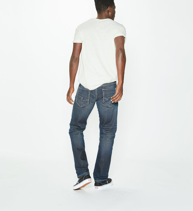 Eddie Tapered Dark Wash, , hi-res