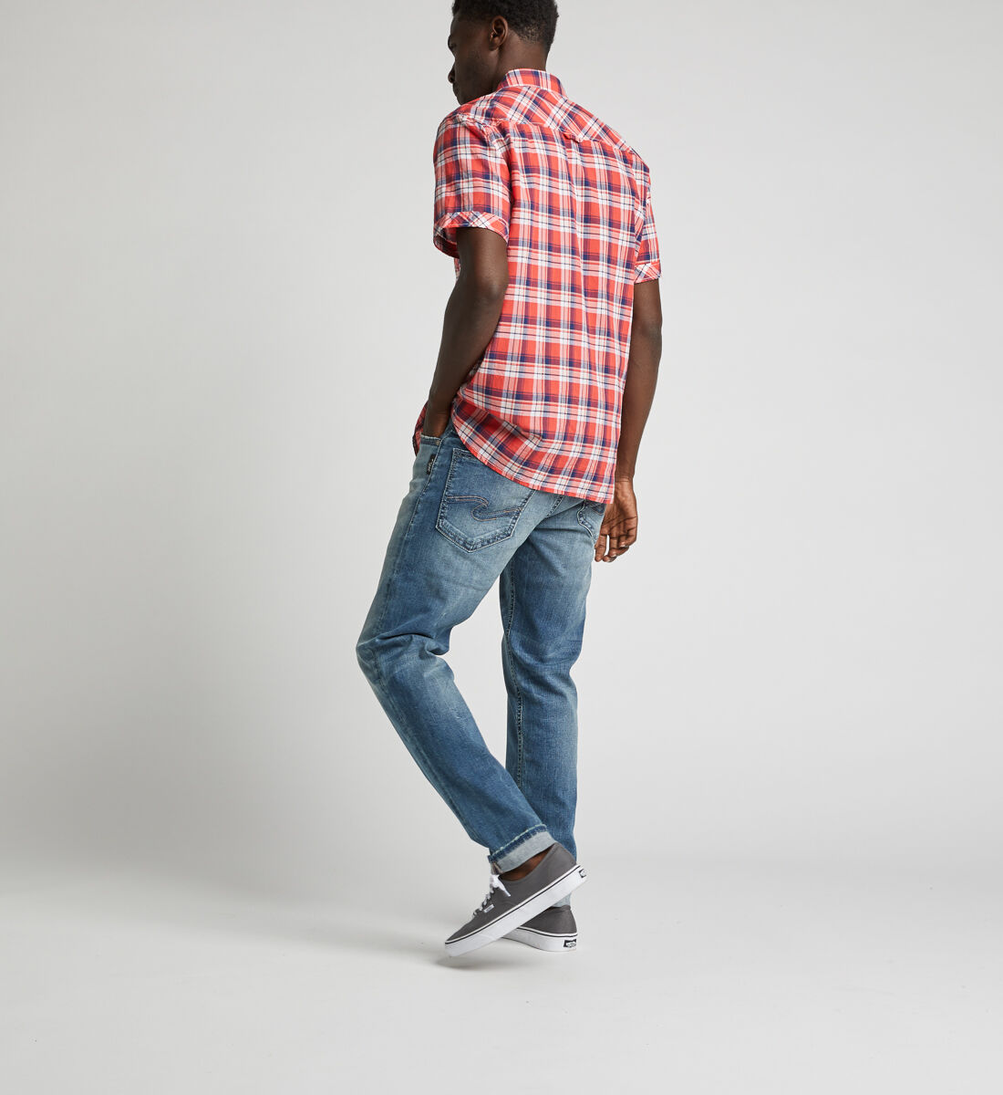 Cassidy Plaid Shirt Side