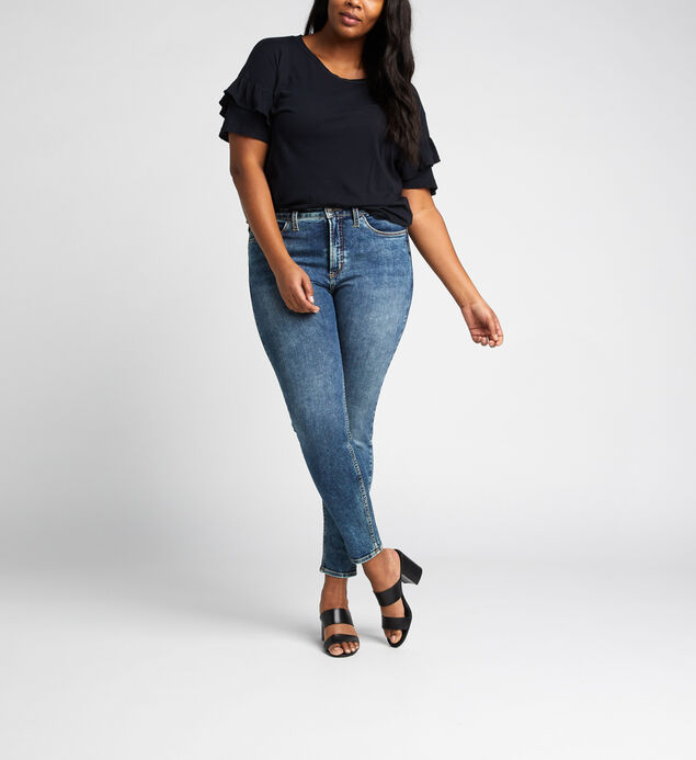 High Note High Rise Skinny Leg Jeans Plus Size
