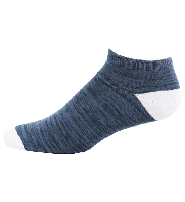 Space Dyed Low-Cut Ankle Men's Socks
