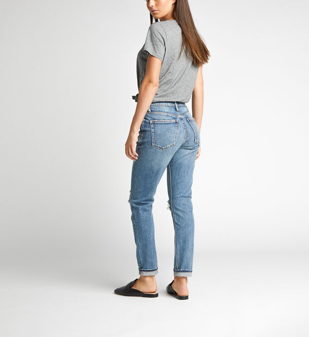 Frisco High Rise Tapered Leg Jeans, , hi-res