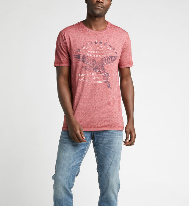 Dwade Short-Sleeve Slub Graphic Tee