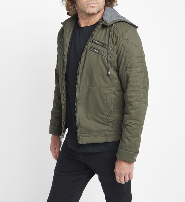 Brendon Sherpa-Lined Jacket