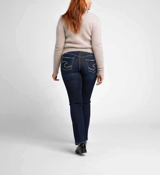 Avery High Rise Straight Leg Jeans, , hi-res