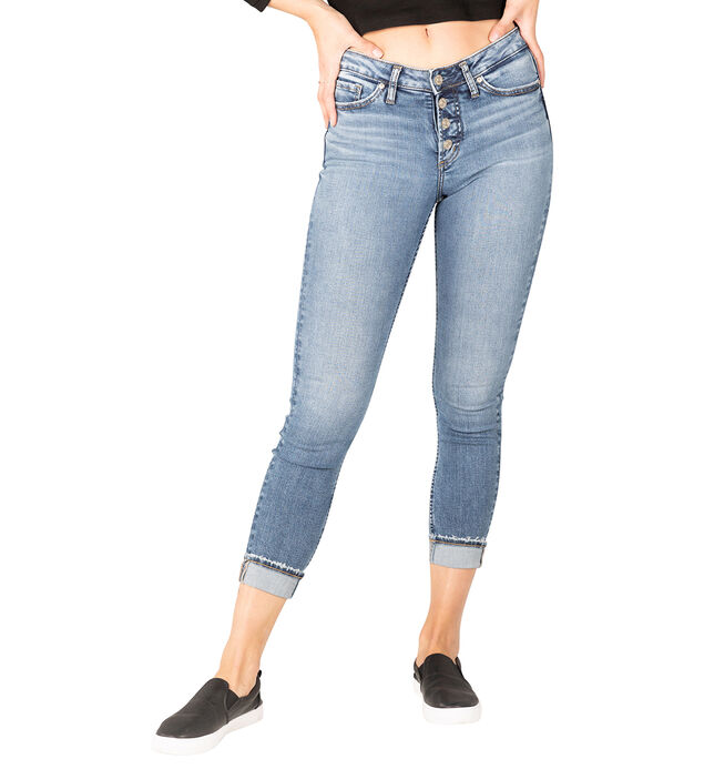 Most Wanted Mid Rise Skinny Jeans - Eco-Friendly Wash