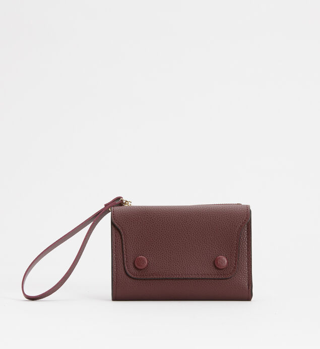 Small Flap Wristlet Wallet
