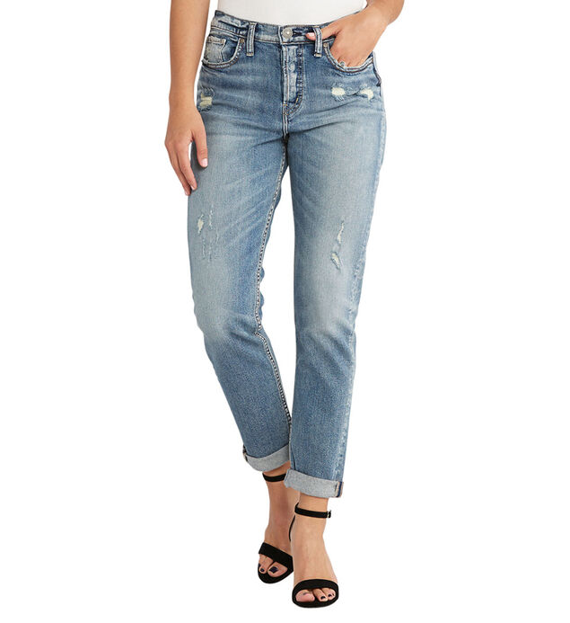 The Mom Jean Medium Wash