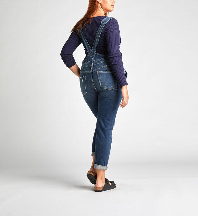 Overalls Slim Leg Jeans, , hi-res