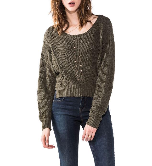 Boxy Sweater Crop