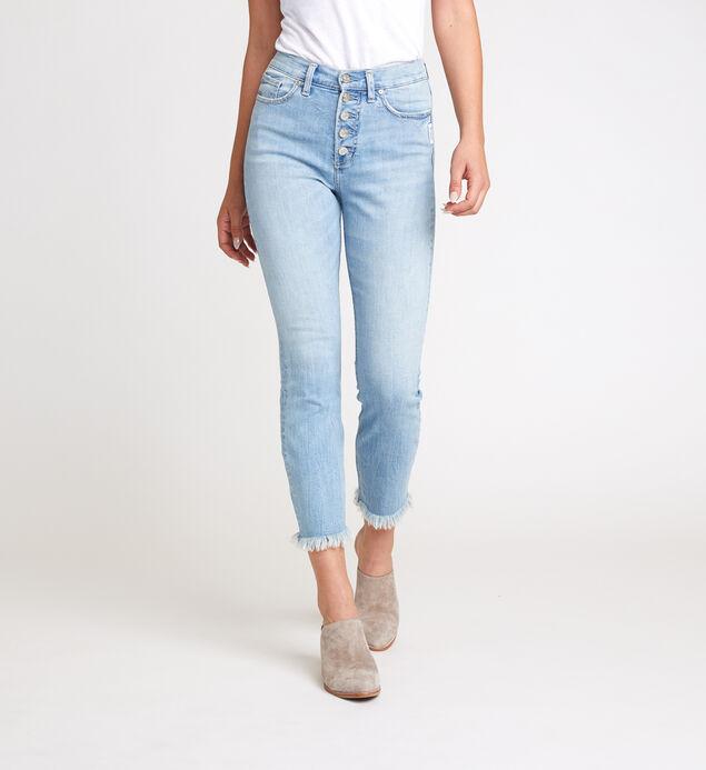 Calley Super High Rise Slim Leg Jeans