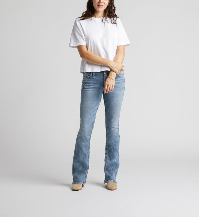 Elyse Mid Rise Bootcut Jeans