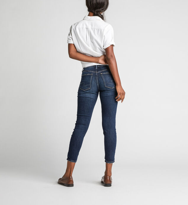 Avery High Rise Skinny Crop Jeans, , hi-res