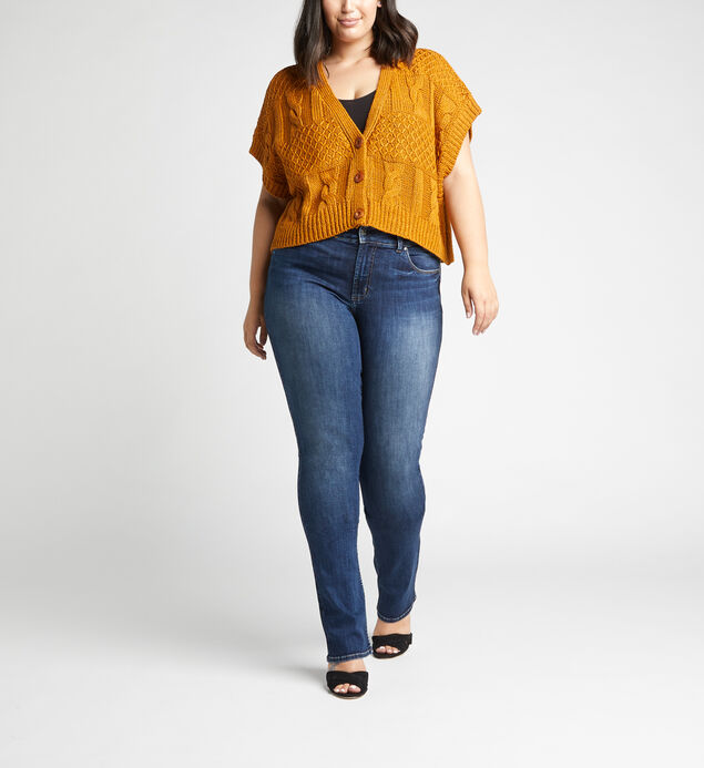 Most Wanted Mid Rise Skinny Bootcut Plus Size Jeans