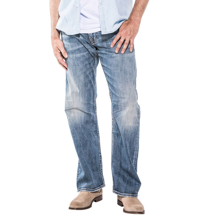 Zac Straight Leg Medium Wash