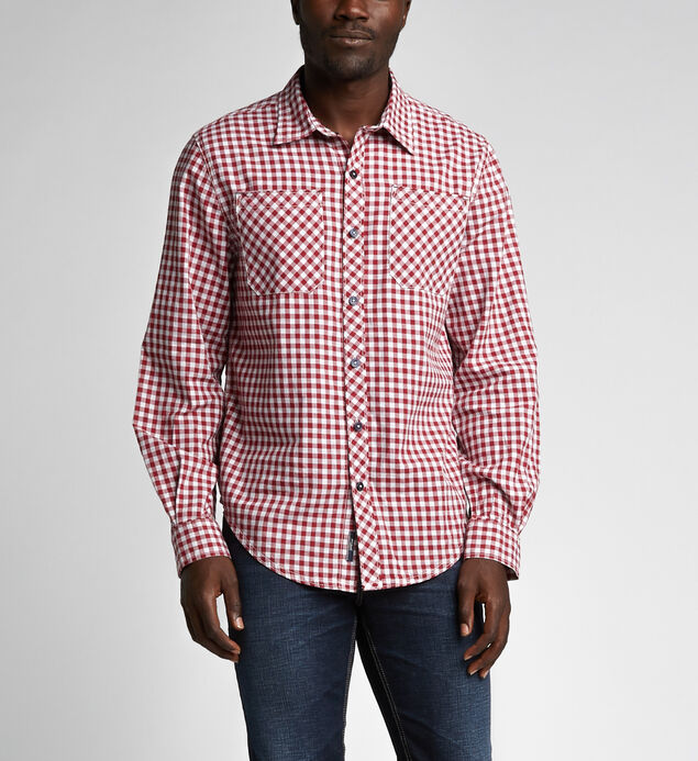 Ron Long-Sleeve Plaid Shirt