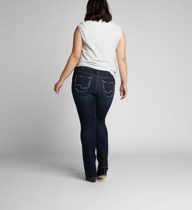 Avery High-Rise Curvy Slim Bootcut Jeans, , hi-res
