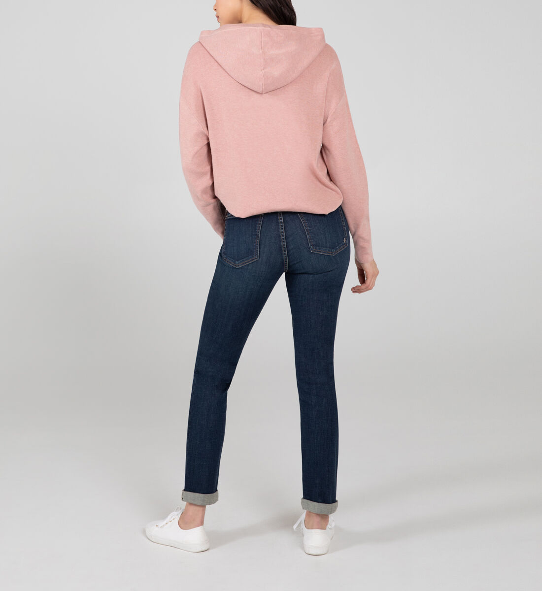 Beau Mid Rise Slim Leg Jeans Back