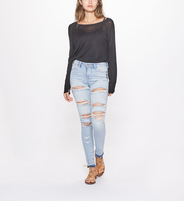 Bleecker Jegging Mid Rise Light Wash