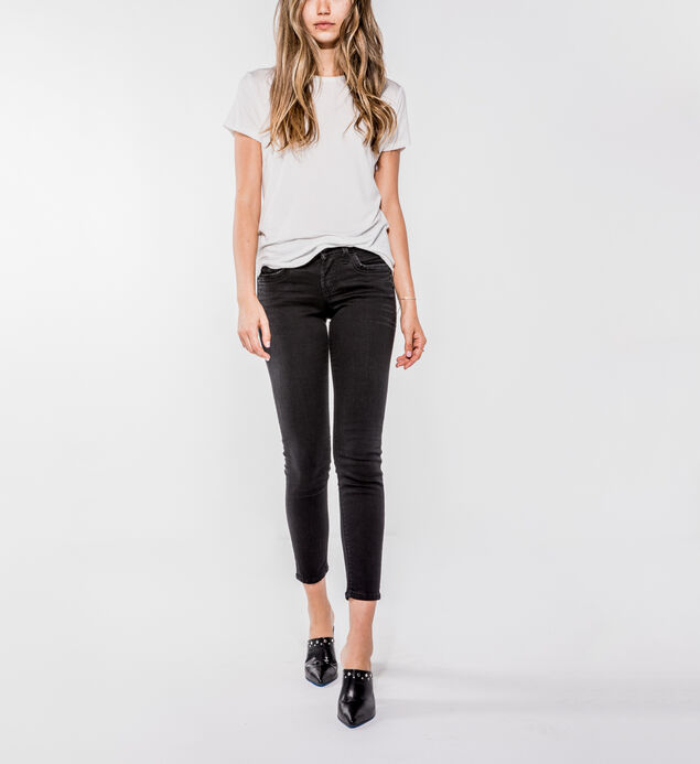 Suki Mid Rise Ankle Skinny Jeans
