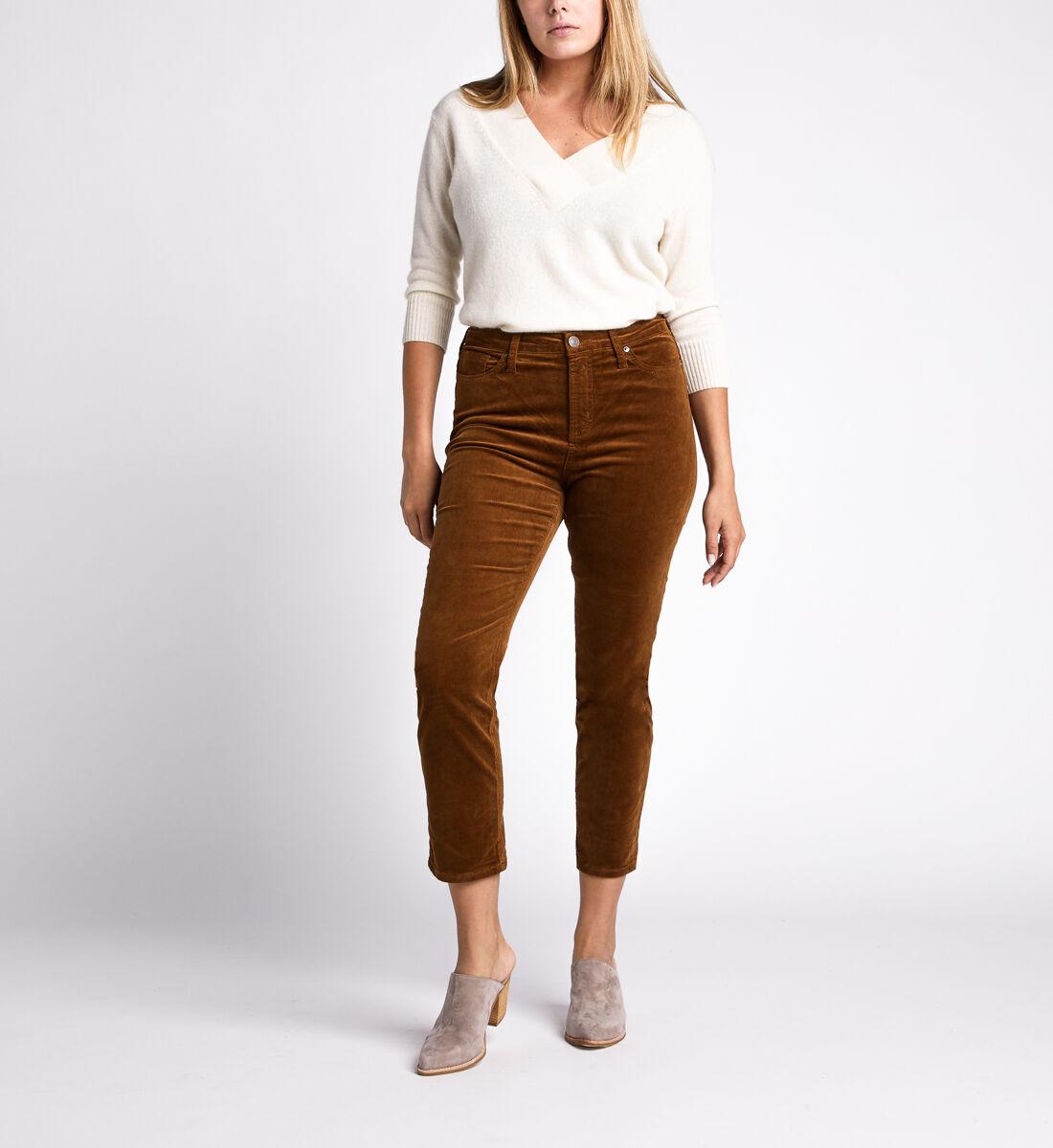 High Note High Rise Slim Leg Pants,Caramel Alt Image 1