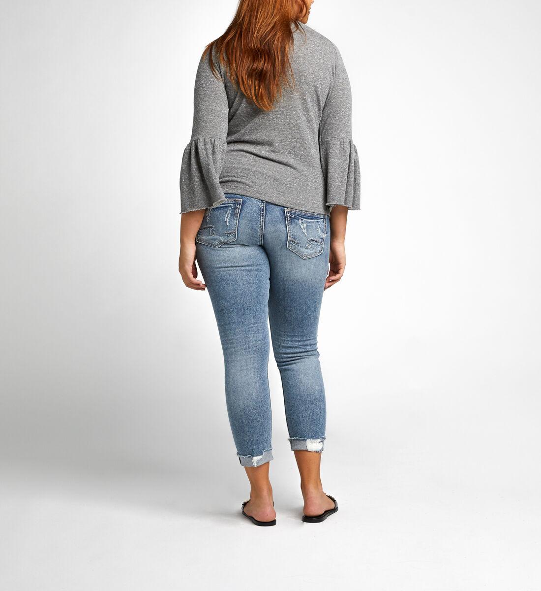 Suki Skinny Crop Maternity Jeans Side