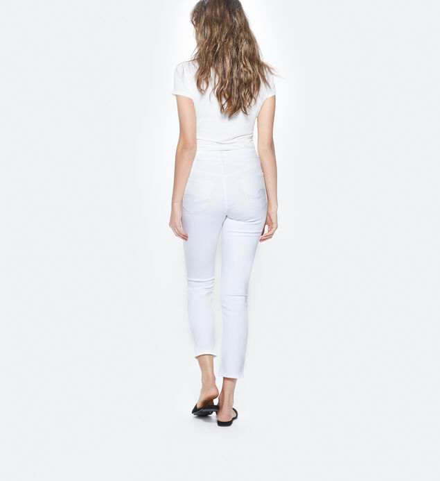 Mazy Ankle Slim White, , hi-res