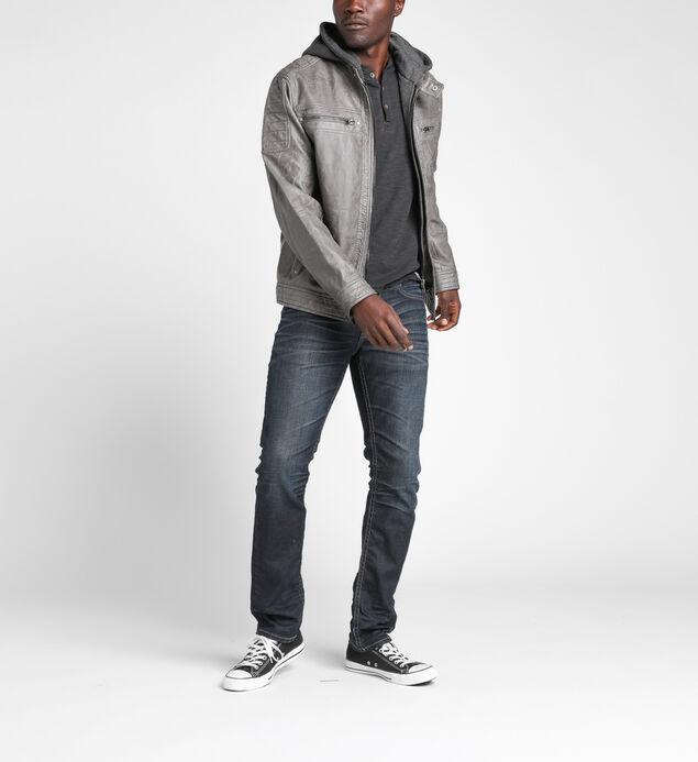 Fredric Faux-Leather Jacket