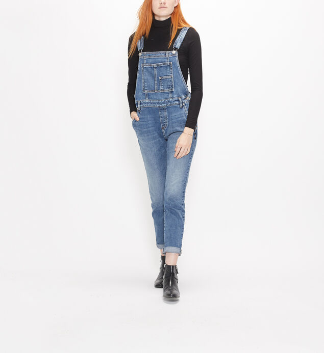 Skinny Overall Medium Wash